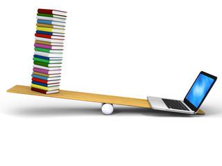 Technology versus books