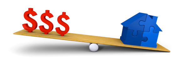 House heavier than dollars