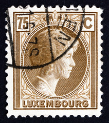 Postage stamp Luxembourg 1927 Charlotte, Grand Duchess of Luxemb