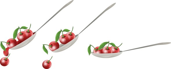 Cherry spoon