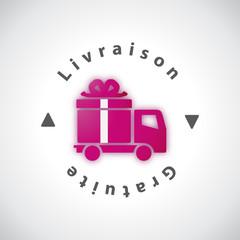 Livraison Gratuite - Illustration vectorielle