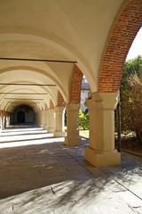Porticato della canonica del Duomo di Novara