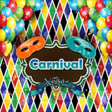 Carnival harlequin background