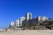 Leinwanddruck Bild - bat yam beach