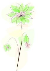 fleur stylisée