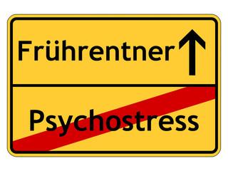 Frührentner durch Psychostress