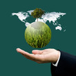 World green business and sustainable business concept