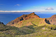 A view of the island of La Gomera, Canary Islands. From Masca, T