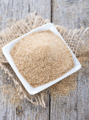 Portion of Brown Sugar