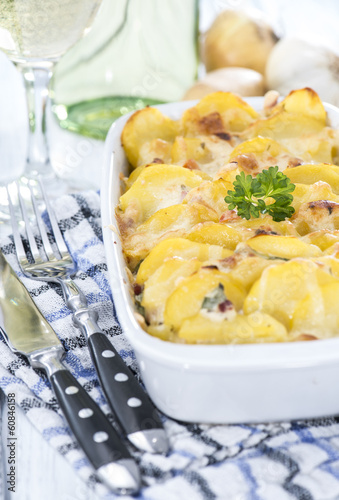 Homemade Potato Gratin