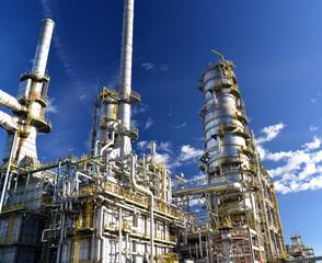 Raffinierie // Refinery industrial plant