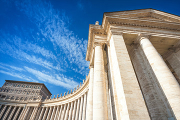 Saint Peter's Square, Vatican City, Rome, Italy