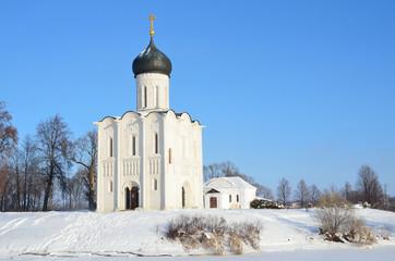 Владимир, древняя церковь Покрова на Нерли