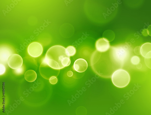 canvas print picture spring lights