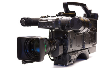 Professional tv camera
