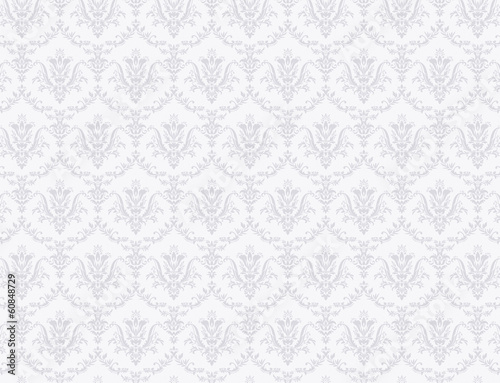 Tuinposter Retro floral pattern wallpaper