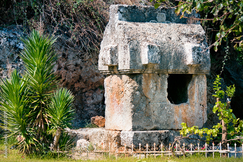 Lycian Tomb in Turkey