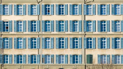 canvas print picture Fensterfront