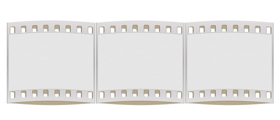 35mm film strip frame