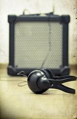 Headphones and amplifier