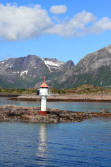 Lofoten's lighthouse