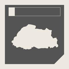 Bhutan map button