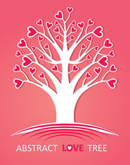 Abstract love tree.