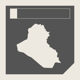 Iraq map button