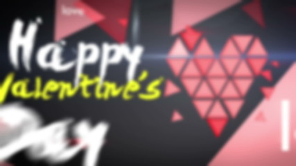 Happy Valentine's Day  Looping Animation
