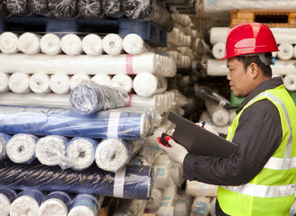 Textile factory worker
