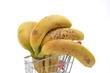 Bananen Einkaufswagen