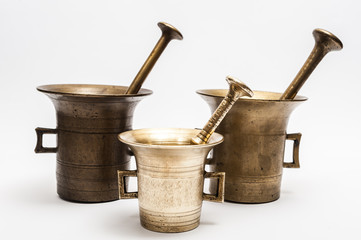 Bronze mortars