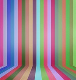 Rainbow Lines Background.