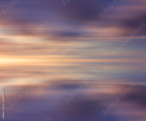 Motion blur background of colorful clouds