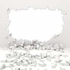 3d wall destruction