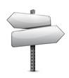 blank sign illustration design