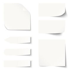 Sammlung - Zettel / Notiz blank