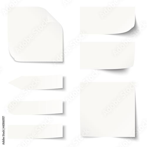 Sammlung - Zettel / Notiz blank - 60860117