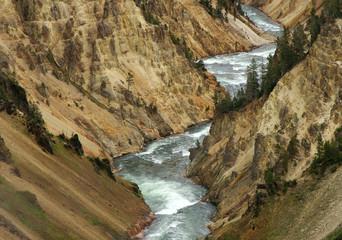 Yellowstone paesaggio