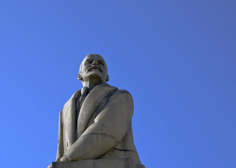 Granite sculpture of Vladimir Lenin