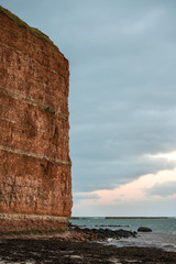 Cliff on Helgoland Germany