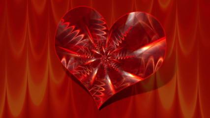 Animation Herz mit Muster