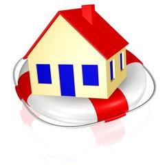 Rettung des Eigenheims, Absicherung