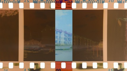 moving scanning band develop negative photo film