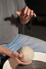 blank pottery