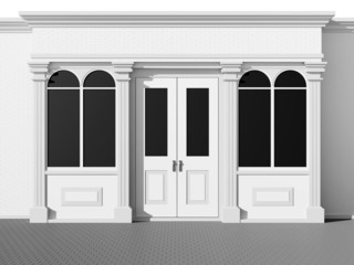 Stylish shopfront - classic store front