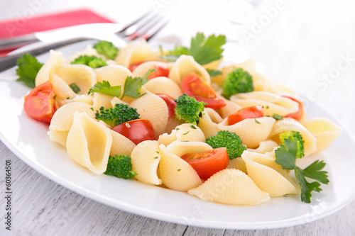 pasta with vegetables