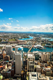 Aerial view of Darling Harbour,Sydney,Australia poster
