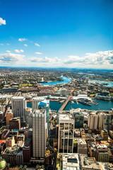 Aerial view of Darling Harbour,Sydney,Australia