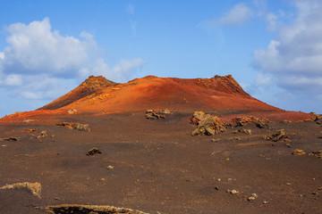 Mountains of fire Timanfaya